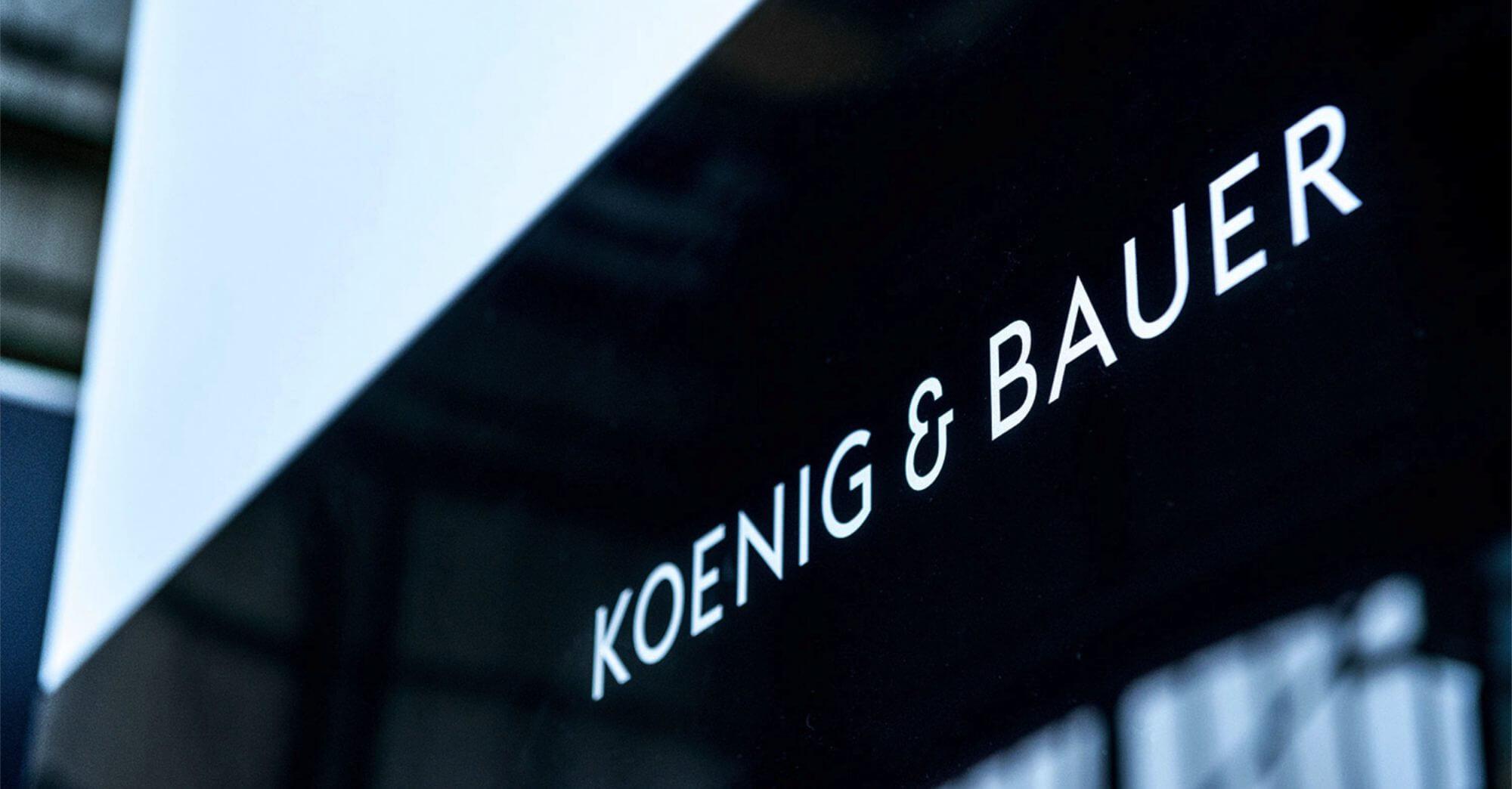 Koenig & Bauer Varijet Designsprache UX-Research UI Design Strategie Produktfamilie Innovation Tradition