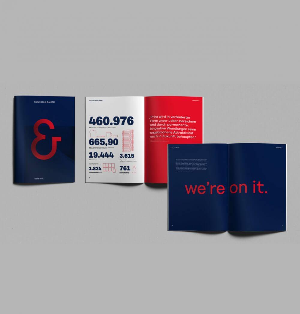 Koenig & Bauer Varijet Designsprache UX-Research UI Design Strategie Produktfamilie Innovation Tradition Brand CI CD