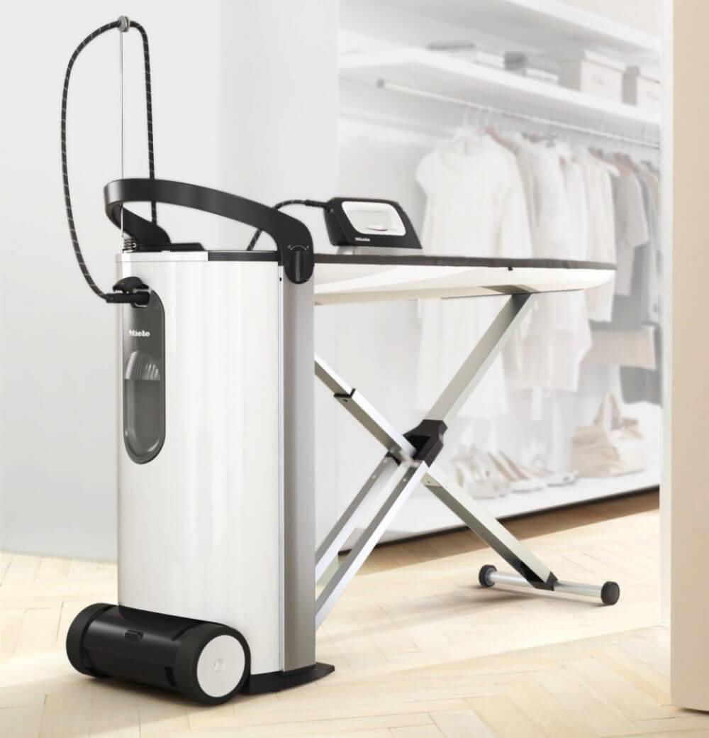 Miele Fashionmaster Wäschepflege Bügeln Premium Umfeld ironing station laundry care