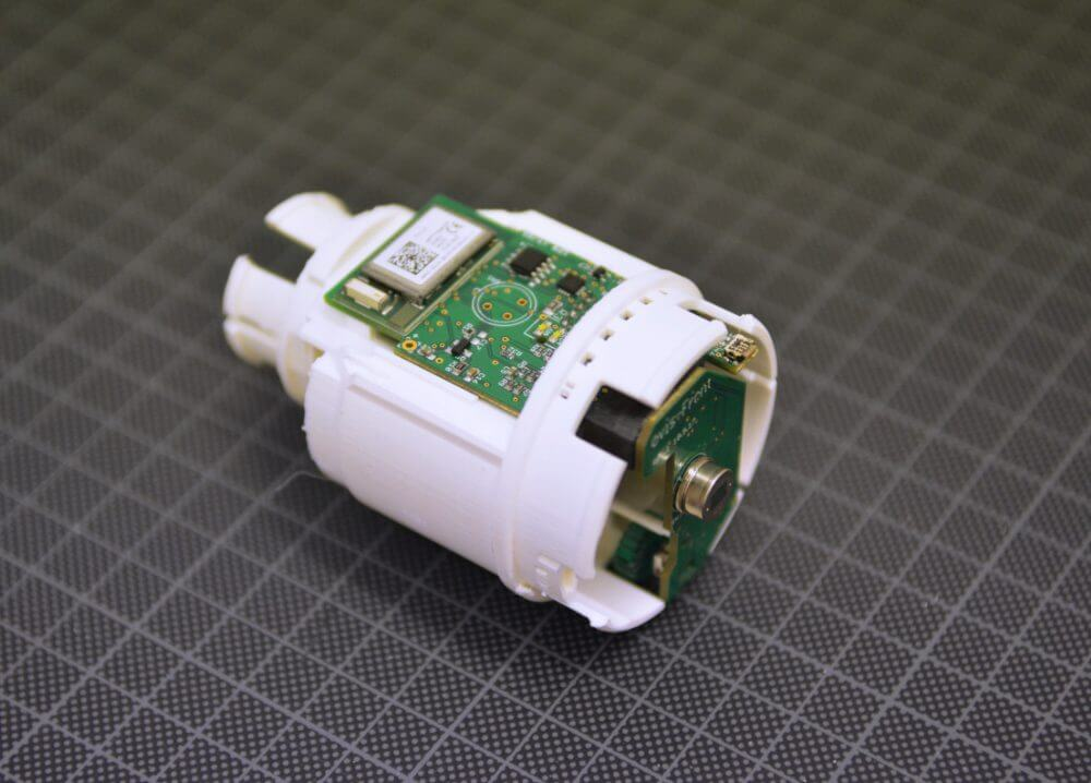 Vilisto smart home thermostat Innovation Future-Living prototype