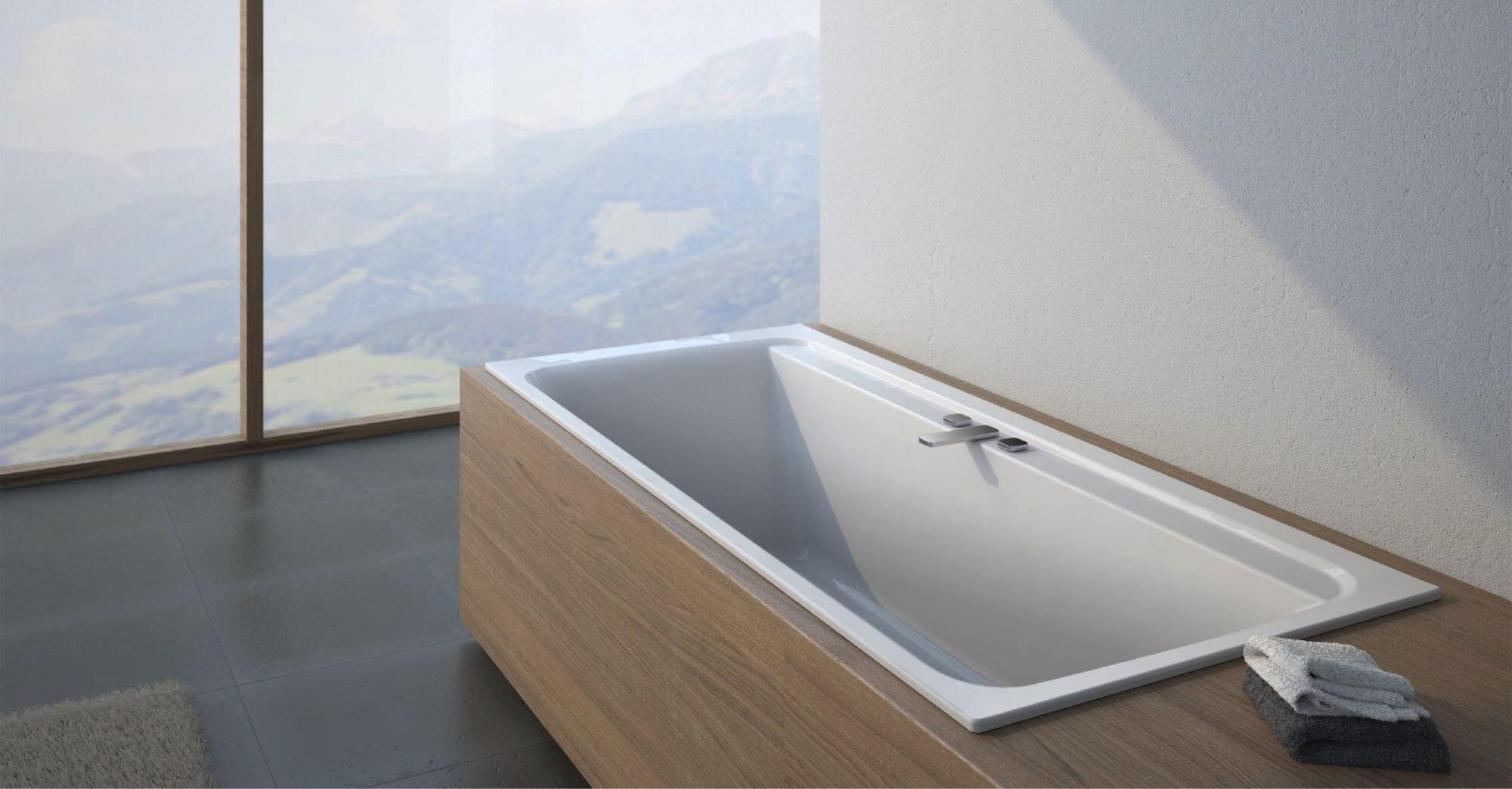 AmPm Inspire 2 design strategy PR-support bathtub bathroom design