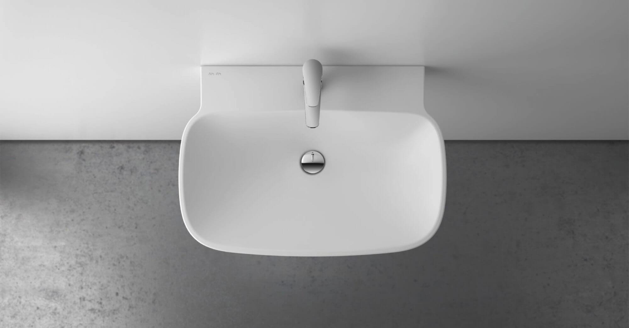AmPm Serenity design strategy PR-support keramik waschbecken sanitär ceramic design washbasin innovation