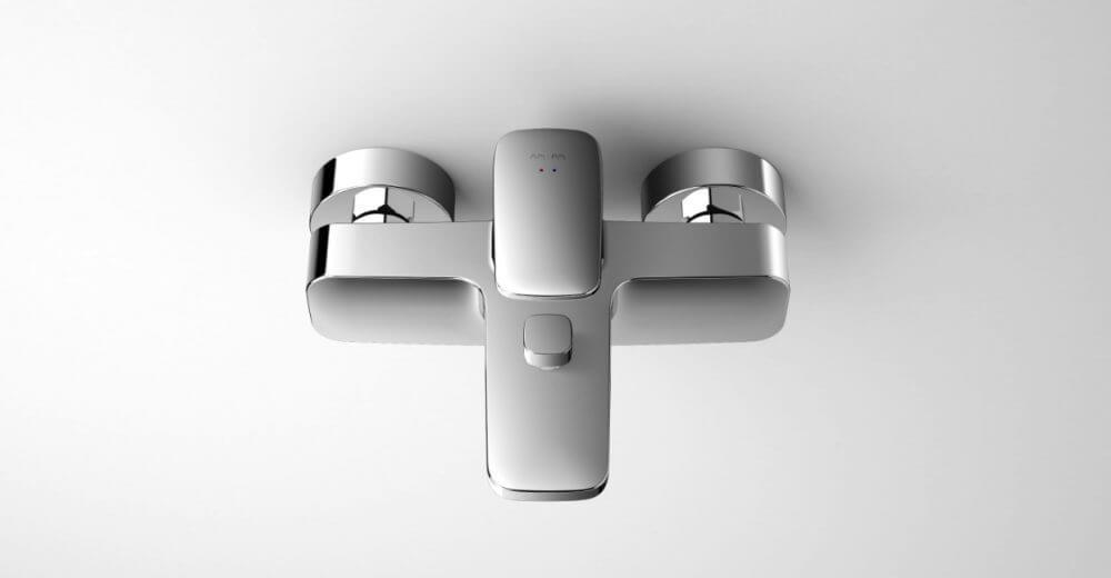 AmPm  Spirit design strategy PR-support Kreativprozess Co-working Innovation Styling Badewannenarmatur Badewannenmischer