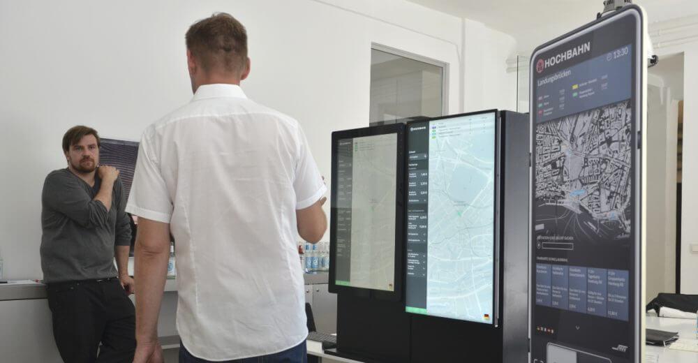 Hochbahn Ticketautomat Interface Test %UX/UI %Innovation usability test