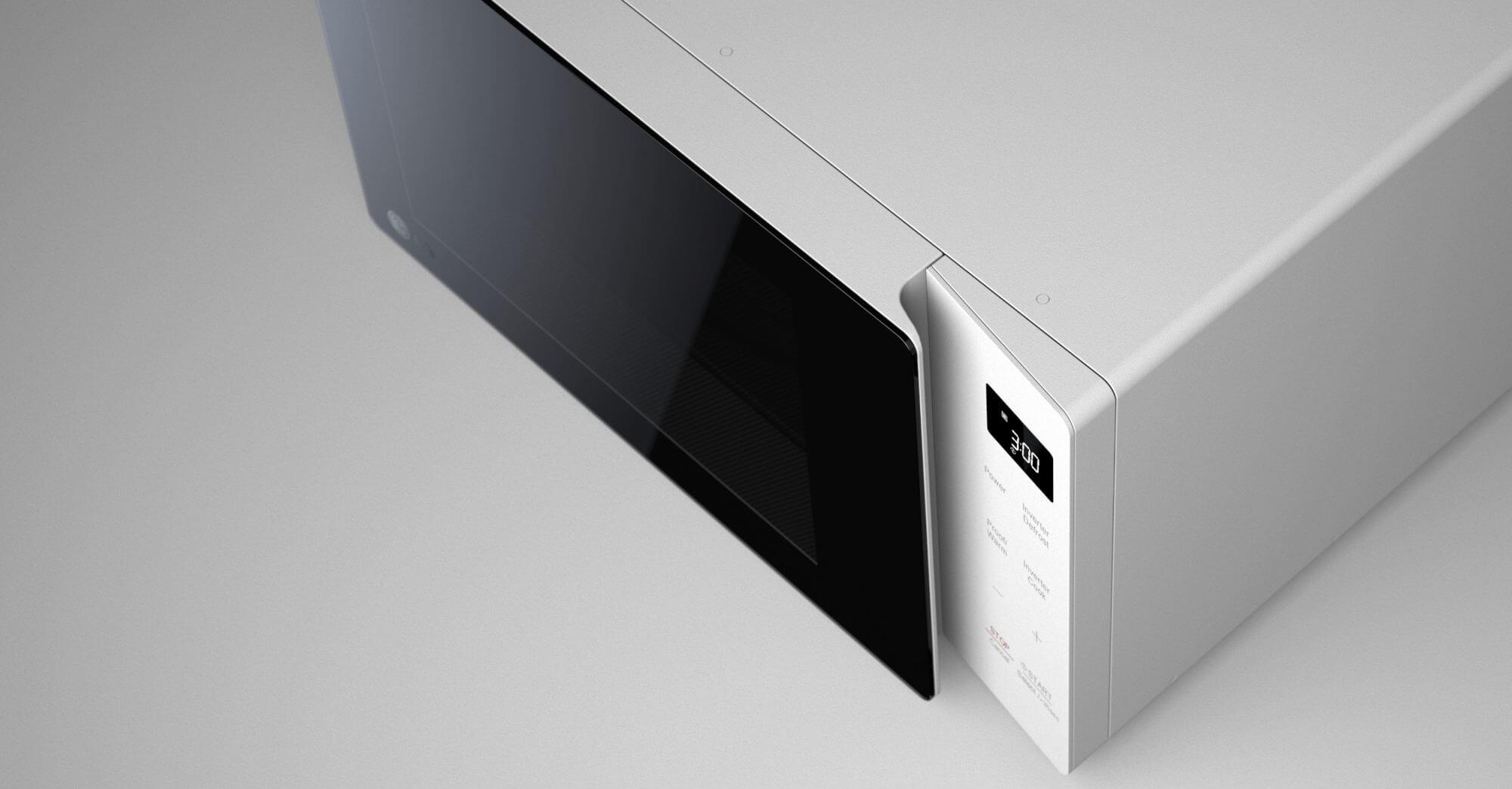 LG NeoChef Mikrowellen Familie Design Language Designsprache Styling Innovation