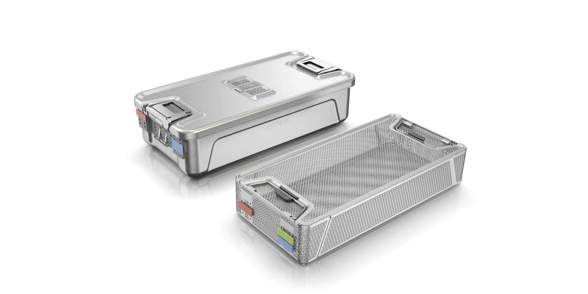 Aesculap Sterile Container System, User-centered Medical Design, Design Language, innovation