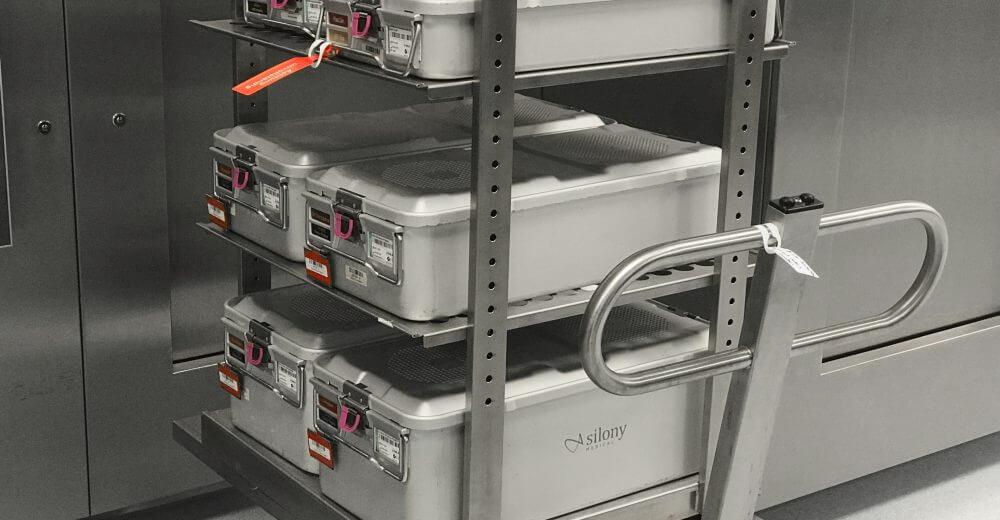 Aesculap Sterilgutcontainer System, User-centered Medical Design, UX-Research, Nutzerbefragung, Transport