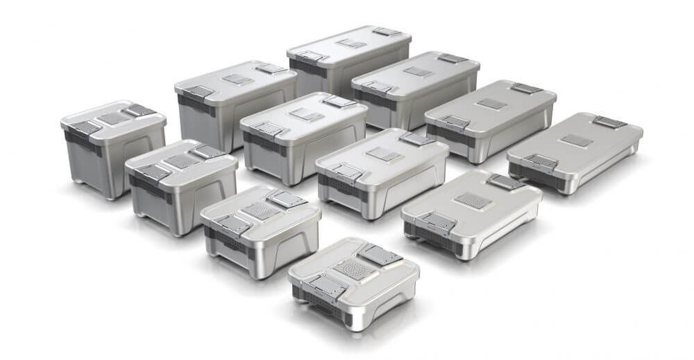 Aesculap Sterilgutcontainer System, User-centered Medical Design, Groessen, Familie